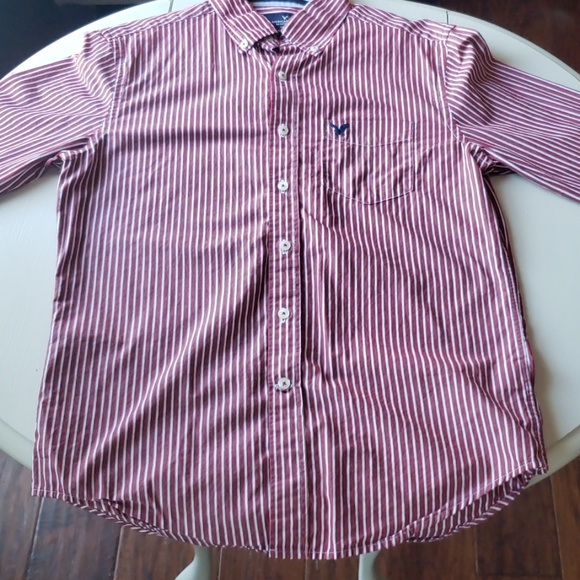 American Eagle Outfitters Other - Red button-down shirt